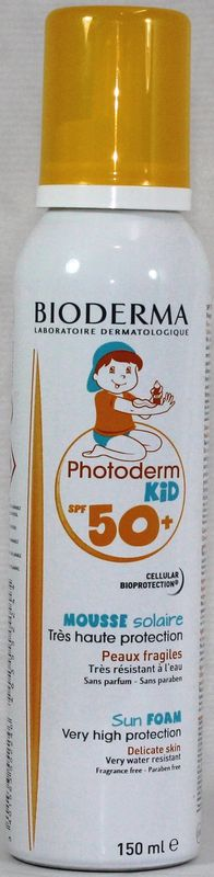 PHOTODERM KID SPF 50+ MOUSSE NIÑOS150 ML