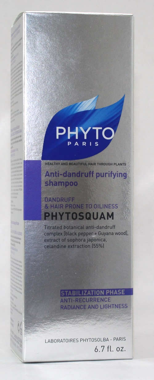 PHYTOSQUAM CHAMPU ANTICASPA PURIFICANTE 200ML