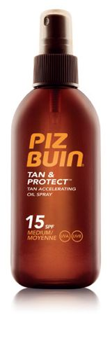 PIZ BUIN TAN  PROTECT SPF15 SPRAY ACEITE 150ML