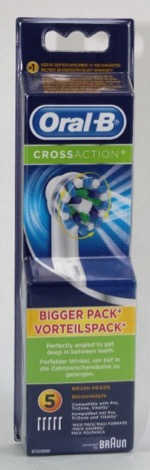 ORAL B RECAMBIO CEPILLO ELECTRICO CROSS ACTION 5U