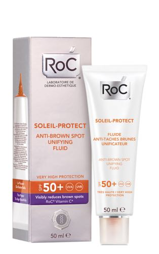 ROC SOLPROTECT FLUIDO ANTIMANCHAS SPF50+ 50ML