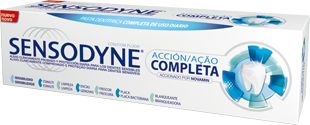 SENSODYNE ACCION COMPLETA PASTA DENTAL 75 ML+++