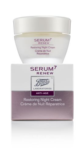 SERUM7 RENEW ANTI AGE CREMA NOCHE 50ML