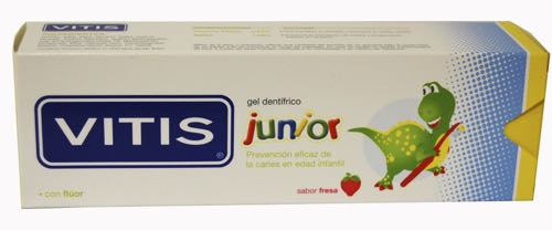 VITIS JUNIOR GEL DENTIFRICO 75 ML